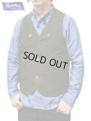 画像1: 【 Pherrow's(フェローズ) 】 コットンダックハンティングベスト [ Cotton Duck Hunting Vest ]