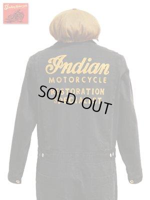 画像1: 【 IndianMotorcycle(インディアンモーターサイクル) 】 HERRINGBONE TWILL ALL IN ONE W/EMB'D