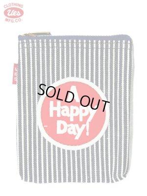 画像1: 【 UES(ウエス) 】 ヒッコリーシガレットケース [ A HAPPY DAY! ]