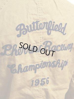画像5: 【 Pherrow's(フェローズ) 】 カスタムメカニックジャケット [ Butterfield Pherrow Raceway Championships 1956 ]