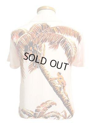 画像2: 【 SUN SURF(サンサーフ) 】 半袖アロハシャツ [ PALM TREE CLIMBER ]