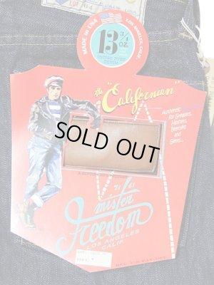"""画像5: 【 SUGAR CANE×Mister Freedom 】 【 13.75oz. 】 BLUE JEANS """"CALIFORNIAN"""" [ Lot.64 ] [ MADE in U.S.A. ] [ 残り1本(31インチ) ]"""
