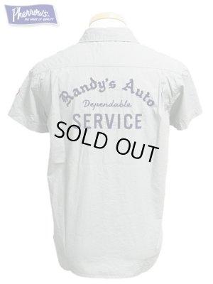 画像1: 【 Pherrow's(フェローズ) 】 半袖カスタムワークシャツ [ RANDY'S AUTO ]