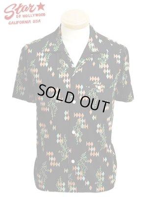 画像1: 【 STAR OF HOLLYWOOD(スターオブハリウッド) 】 半袖オープンカラーシャツ [ PIERROT ]