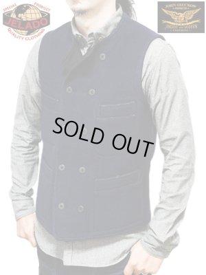 画像1: 【 JOHN GLUCKOW(ジョングラッコウ) 】 ウールブランケットダブルワークベスト [ Crewman's Vest ]