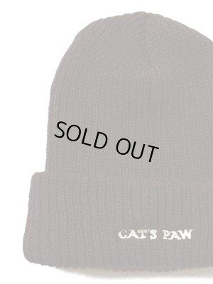 画像2: 【 CAT'S PAW(キャッツポウ) 】 オリジナルニットキャップ [ Made in U.S.A. ] [ BROWN ] 再入荷!