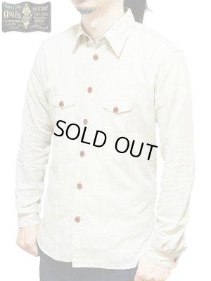 画像1: 【 ORGUEIL(オルゲイユ) 】 コットンリネンダンガリーワークシャツ [ COTTON LINEN CLASSIC WORK SHIRT ]