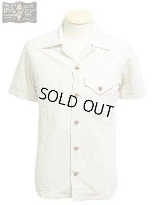 画像1: 【 ORGUEIL(オルゲイユ) 】 半袖コットンリネンダンガリーオープンカラーシャツ [ SHORT SLEEVE OPEN COLLAR SHIRT ]