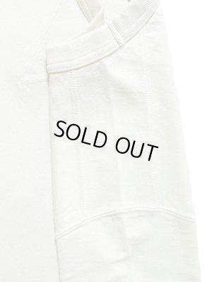 画像4: 【 Pherrow's(フェローズ) 】 半袖度詰め天竺Vガゼット付きTシャツ [ OATMEAL ]