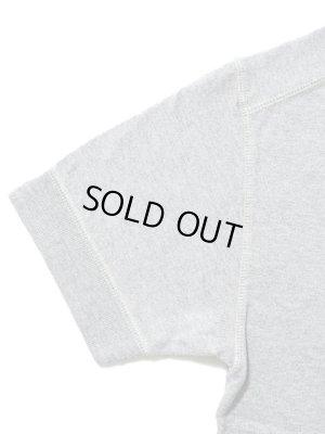 画像2: 【 Pherrow's(フェローズ) 】 半袖度詰め天竺Vガゼット付きTシャツ [ H.GRAY ]