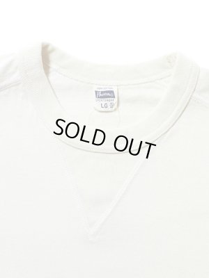 画像5: 【 Pherrow's(フェローズ) 】 半袖度詰め天竺Vガゼット付きTシャツ [ OATMEAL ]