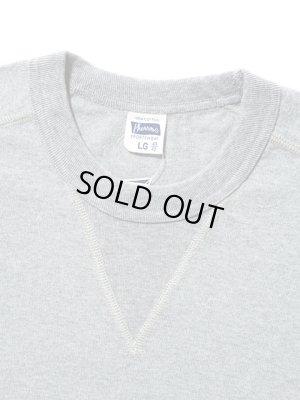 画像5: 【 Pherrow's(フェローズ) 】 半袖度詰め天竺Vガゼット付きTシャツ [ H.GRAY ]