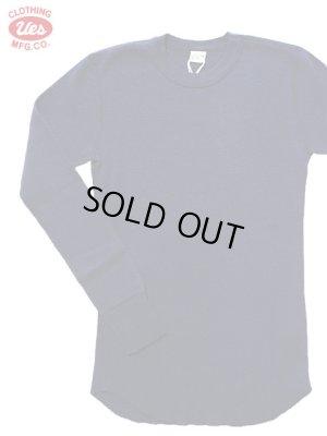 画像1: 【 UES(ウエス) 】 長袖サーマルクルーネックTシャツ [ ネイビー ] 再入荷!