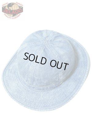 画像1: 【 JELADO(ジェラード) 】 インディゴデニムアーミーハット [ U.S.ARMY HAT-Vintage Finish ] 初入荷!