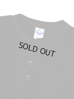 画像5: 【 JELADO(ジェラード) 】 10/- MEGA メガサーマルヘンリーネックTシャツ [ ATHLETIC BRAND ] [ BLACK ]
