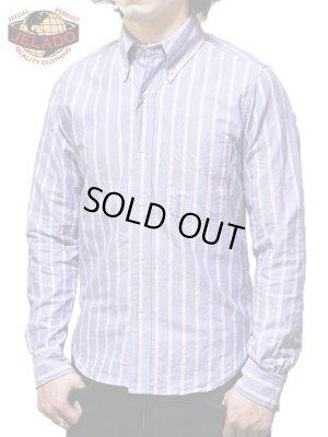 画像1: 【 JELADO(ジェラード) 】 ストライプボタンダウンシャツ [ Stripe B.D.shirts ] [ Basic Collection ]