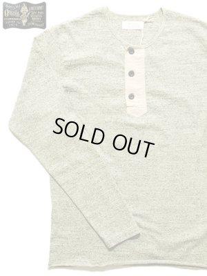 画像1: 【 ORGUEIL(オルゲイユ) 】 長袖吊り編み天竺ヘンリーネックTシャツ [ HENRY T-SHIRT ]
