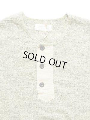 画像2: 【 ORGUEIL(オルゲイユ) 】 長袖吊り編み天竺ヘンリーネックTシャツ [ HENRY T-SHIRT ]