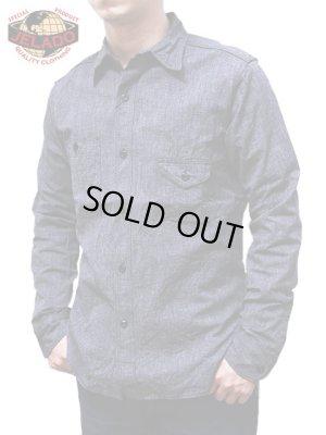 画像1: 【 JELADO(ジェラード) 】 撚り杢シャンブレーガチャポケワークシャツ [ Smokers Shirts ]