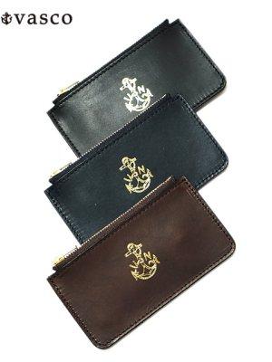 画像1: 【 vasco(ヴァスコ) 】 Leather Naval Zip Pocket Wallet [ ITALIAN OIL LEATHER ]
