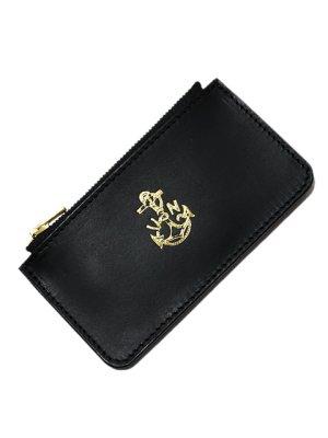 画像2: 【 vasco(ヴァスコ) 】 Leather Naval Zip Pocket Wallet [ ITALIAN OIL LEATHER ]