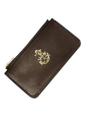 画像4: 【 vasco(ヴァスコ) 】 Leather Naval Zip Pocket Wallet [ ITALIAN OIL LEATHER ]