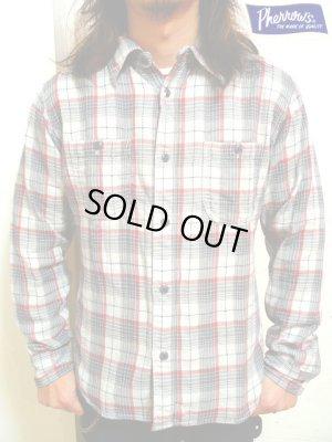 画像1: 【 Pherrow's×山崎まさよし 】 15周年記念限定モデル:ダブルガーゼワークシャツ