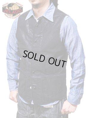 画像1: 【 JELADO(ジェラード) 】 オイルド加工ワークベスト [ Oiled Cotton Duck Work Vest ] [ Squad Vest ]