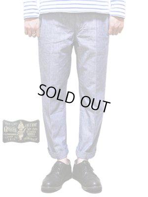 画像1: 【 ORGUEIL(オルゲイユ) 】 8分丈シャンブレートラウザー [ 8-Length Trousers ]