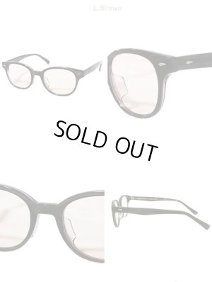 画像4: 【 ORGUEIL(オルゲイユ) 】 ボストンタイプメガネ [ CLASSIC STYLE BOSTON GLASSES ] [ BLACK ]